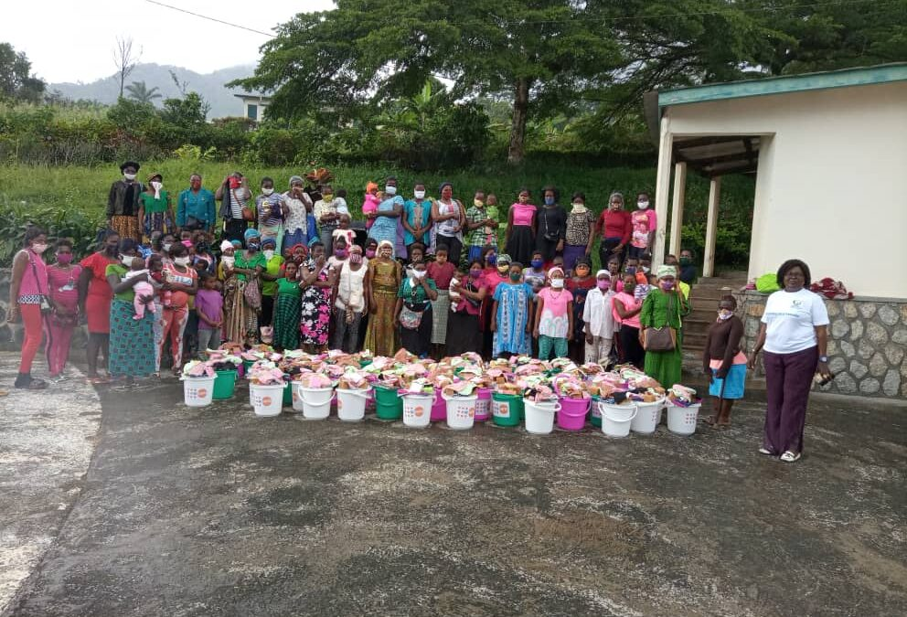 NADEV Brings Dignity and Mama Kits to a Conflict Affected Women in Lebialem Division